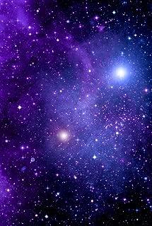 Cosmic Galaxy space pattern Heat Transfer Vinyl Sheet for Silhouette 12