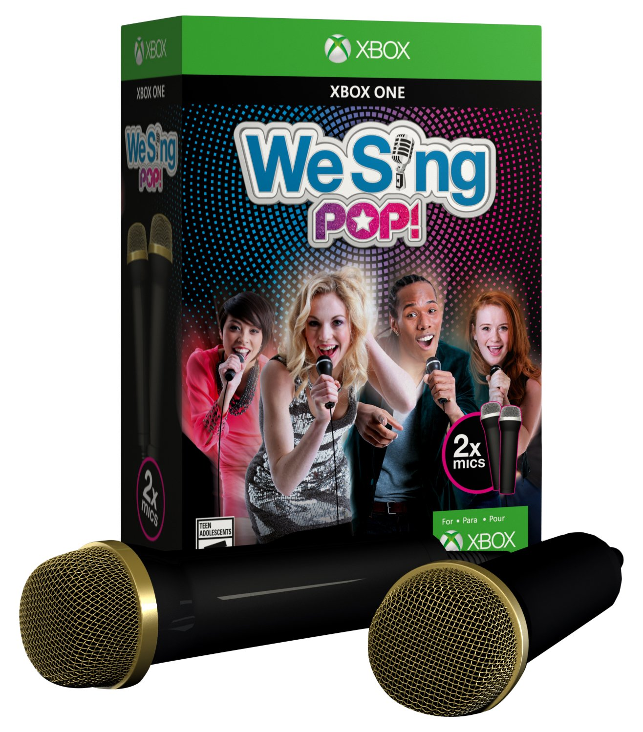 We 1 year warranty Sing Pop 2-Mic Manufacturer OFFicial shop One Xbox Edition Bundle