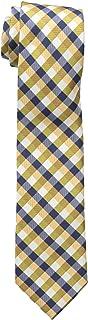 ربطة عنق منقوشة للأولاد الكبار من دوكرز اصفر قياس واحد