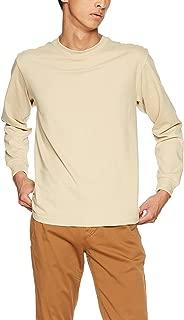 [ヘインズ] ビーフィー ロングスリーブ Tシャツ ロンT 長袖 BEEFY-T 1枚組 綿100% 肉厚生地 ヘビーウェイトT 生地が丈夫で肌になじむ メンズ