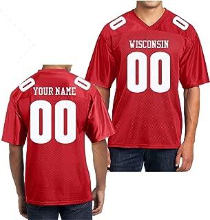 Best customized wisconsin badger football jersey Reviews
