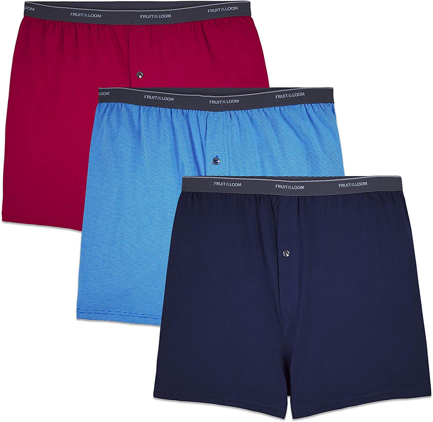 Fruit of the Loom Men's Big and Tall Tag-Free Underwear & Undershirts