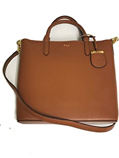 Lauren Ralph Lauren Fall 19 OP tan crossbody/tote, Medium