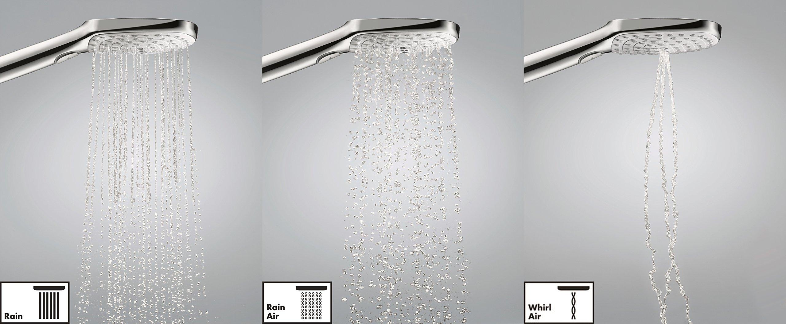 Hansgrohe 27127000 Raindance Select E 300 Columna de ducha, 4 ...