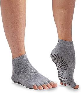 Gaiam Yoga Socks   Toeless Grippy Non Slip Sticky Grip Accessories for Women & Men   Hot Yoga, Pilates, Barre, Ballet, Dan...