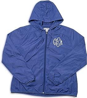 Embellish Ladies Custom Personalized Monogrammed Hooded Rain Jacket