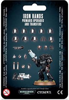 Games Workshop Warhammer 40,000: Iron Hands PRIMARIS Upgrades & TRANSFERS