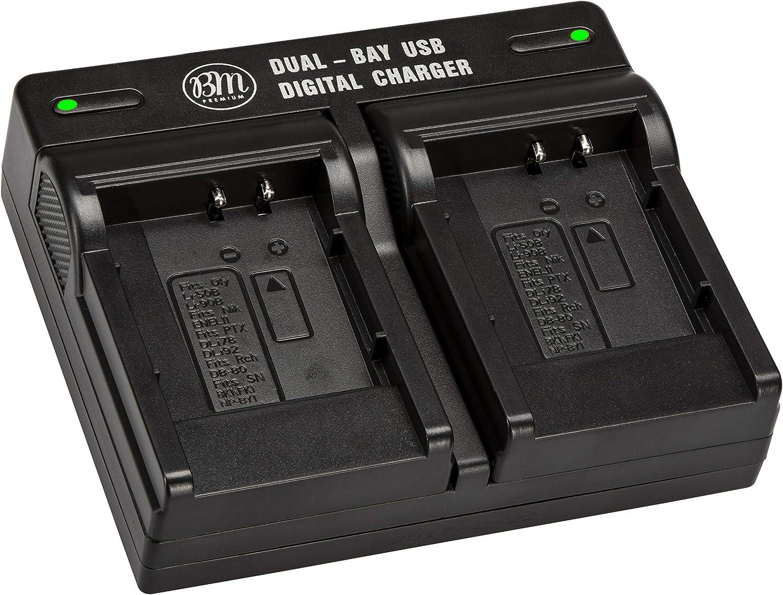 BM LI-90B LI-92B Dual OFFicial mail order Ranking TOP3 Battery Charger Olympus TG-6 for T Tough