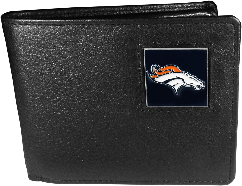 NFL Denver Fort Worth Mall Broncos Wallet Bi-fold New life Leather