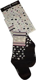 Weri Spezials Strumpfhose für Mädchen Mustermix in schokocreme Baumwolle