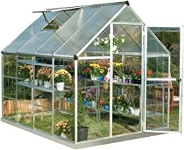 6x4 wooden greenhouse