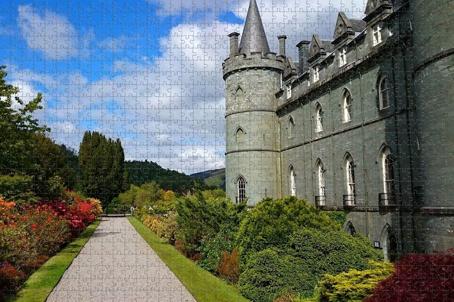 UK England Inveraray Discount is also underway Limited price sale Castle 1000 Game Puzzle Jigsaw Piece Artwor