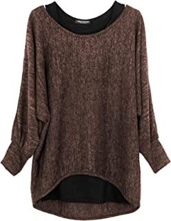 Oversize Pullover - Top (Made in Italy) - Mujer