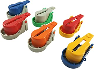 made2catch Pack of 6 Easy Use Mouse Traps - Model 2016 (Random Colors) - Easy Set Snap Mouse Trap - Reusable Humane Mouse Traps That Work - Mice,Voles and Small Rodents Control - Random Colors