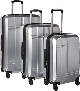 "Isaac Mizrahi Chalet 4-pc Set (22"",26"",29"", 311 Bag), Silver, One Size"