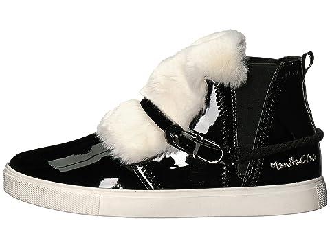 Sneakers Fur High Front Faux Top Grace Manila wqnTpSxB6
