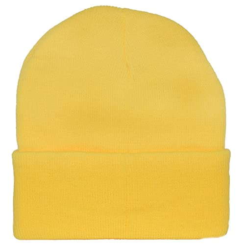 Yellow Knit Cap Beanie Minion Yellow ec84d14c3d6