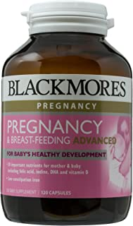 Blackmores Preganancy and Breast-Feeding Advanced, 120ct