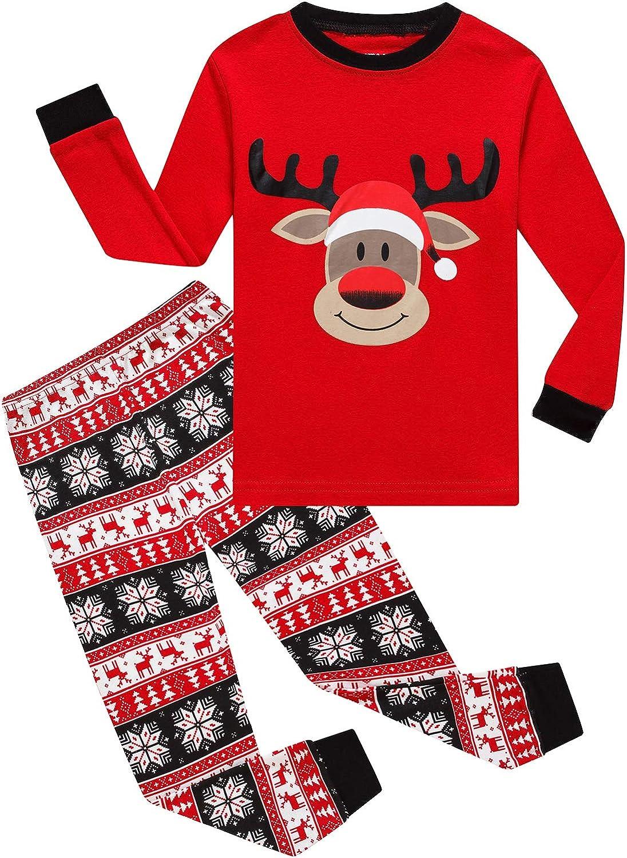 KikizYe Little Boys Pajamas Kids Sleepwear Kids Pjs