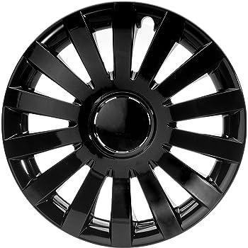 Radkappen Wind schwarz matt 13 Zoll Radzierblenden
