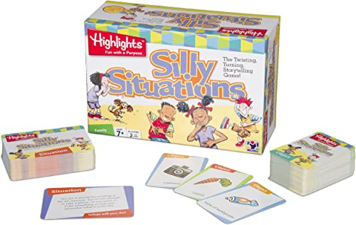ventas de salida Highlights Silly Situations [With Cards] Cards] Cards]