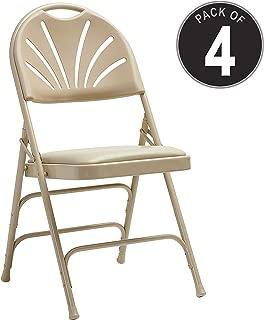 Samsonite 49756-2899 3000 Series Folding Chair, Neutral
