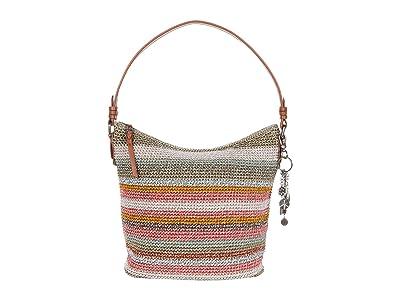 The Sak Sequoia Crochet Hobo (Horizon Stripe) Hobo Handbags