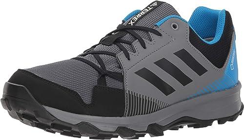 Adidas outdoor Men's Terrex Tracerocker GTX, gris Four noir Bright bleu, 12 D US