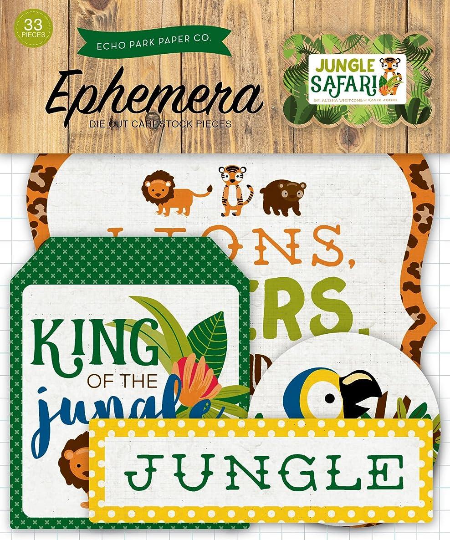 Echo Park Paper Company EPPJS117024 Jungle Safari Ephemera