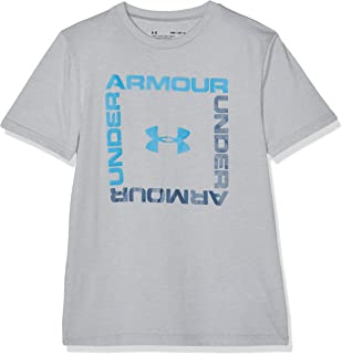 Under Armour Boys' Box Logo Short Sleeve T-Shirt