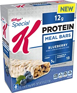 Special K Protein Meal Bars, Blueberry, 9.5 oz