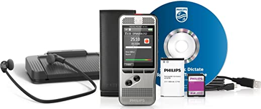 Philips DPM6700 Digital Pocket Memo Dictation and Transcription Starter Kit DPM 6700