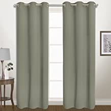 "United Curtain BLZ63LGR Window Curtain Panel Cou, 80"" x 63"", Laurel Green"