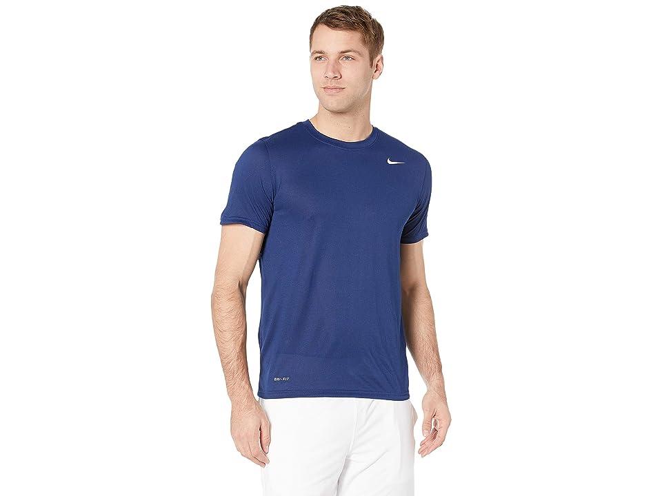 Nike Legend 2.0 Short Sleeve Tee (Blue Void/White) Men