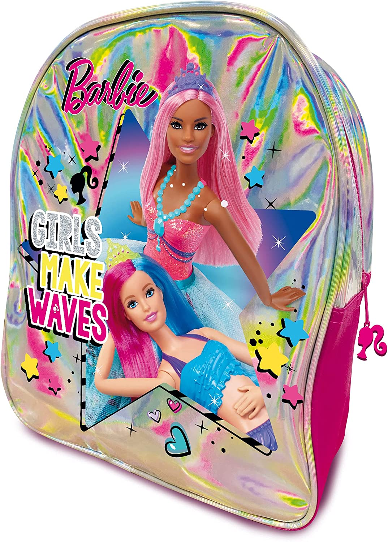Lisciani - Barbie Dough Mochila con 600 g de plastilina y Kit creativo, 88874 - Juego creativo para niñas a partir de 4 años