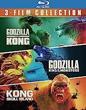 Godzilla vs. Kong/Godzilla: King of the Monsters/Kong: Skull Island (3 Film Bundle BD) (BD) [Blu-ray]