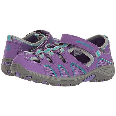 Merrell Kids Hydro H2O Hiker Sandals (Toddler/Little Kid) (Purple/Grey) Girl