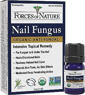 Forces of Nature -Natural, Organic Nail Fungus Treatment (5ml) Non GMO, No Harmful Chemicals, Nontoxic –Fig...