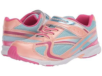 Tsukihoshi Kids Glitz (Toddler/Little Kid) (Peach/Sky) Girls Shoes