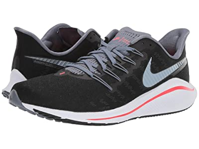 Nike Air Zoom Vomero 14 (Black/Bright Crimson/Armory Blue) Men