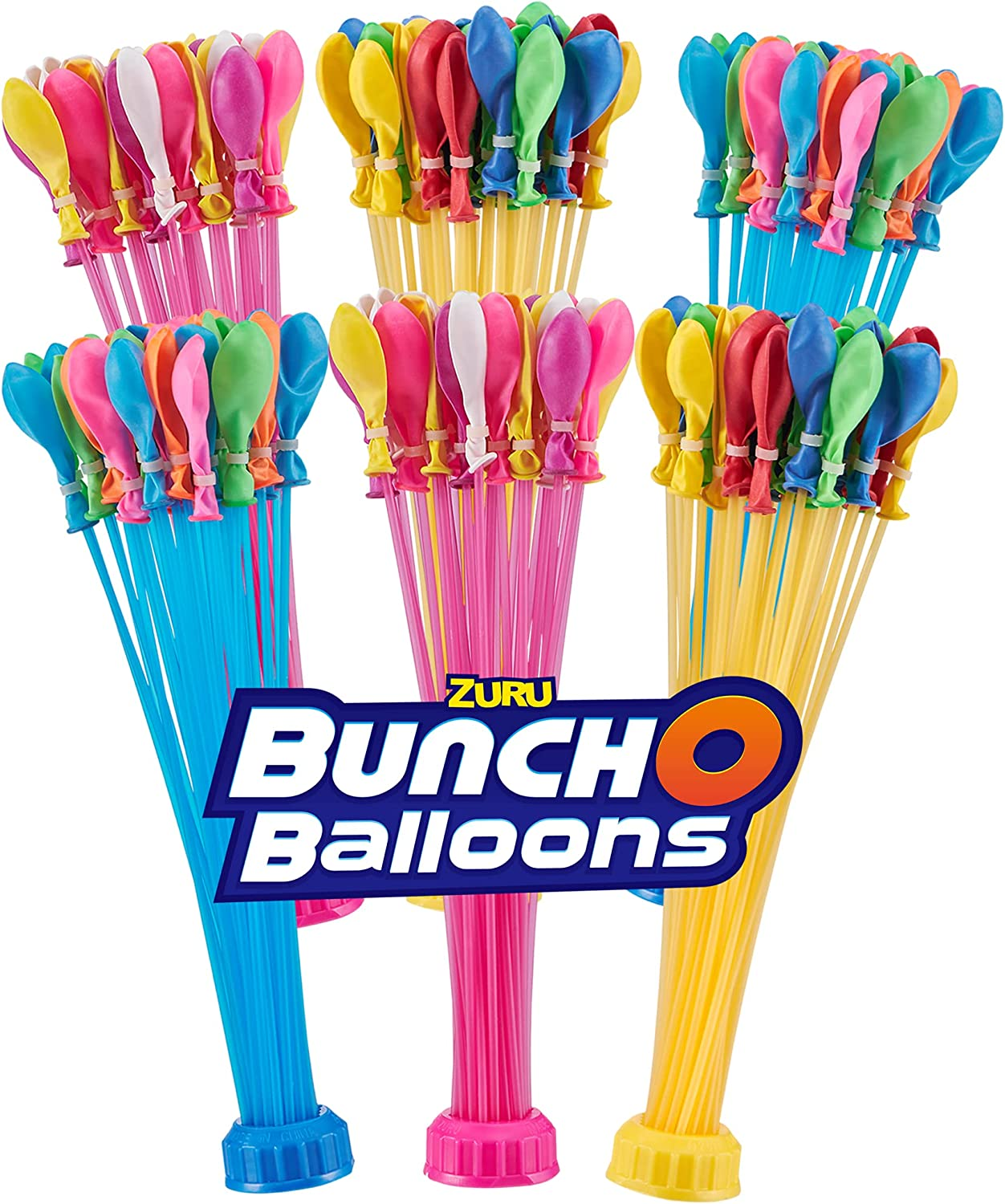Buy Bunch O Balloons Rapid Sealing Crazy Color Water Balloons 6 Pack Online In Indonesia B08cvrcfx3