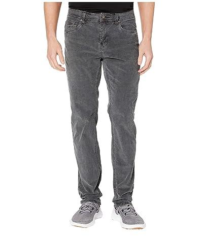 Prana Sustainer Cord Pants (Charcoal) Men