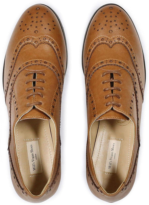 Will's Vegan skor skor skor Oxford Brogues  utlopp på nätet