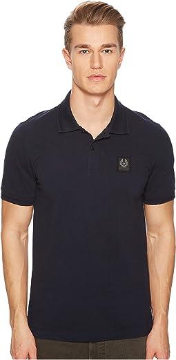 Stannet Cotton Pique Polo Shirt