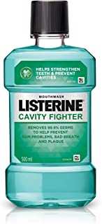 Listerine Cavity Fighter Mouthwash 500ml
