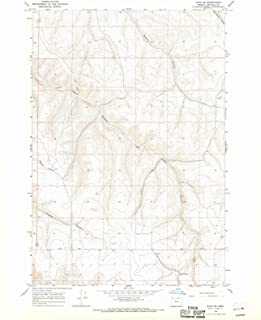 Oregon Maps - 1968 Echo, OR USGS Historical Topographic Map - Cartography Wall Art - 35in x 44in
