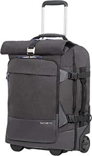 Ziproll - Duffle/Backpack Small with Wheels Suitcase 55 cm, Shadow Blue (Blue) - 116880/1791