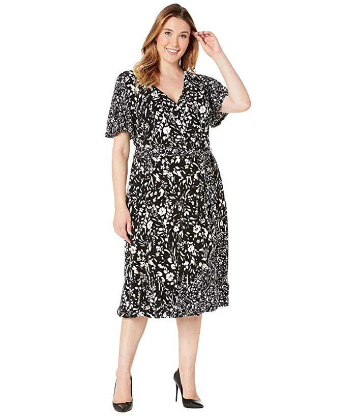 LAUREN Ralph Lauren Plus Size Dalta Dress at Zappos.com