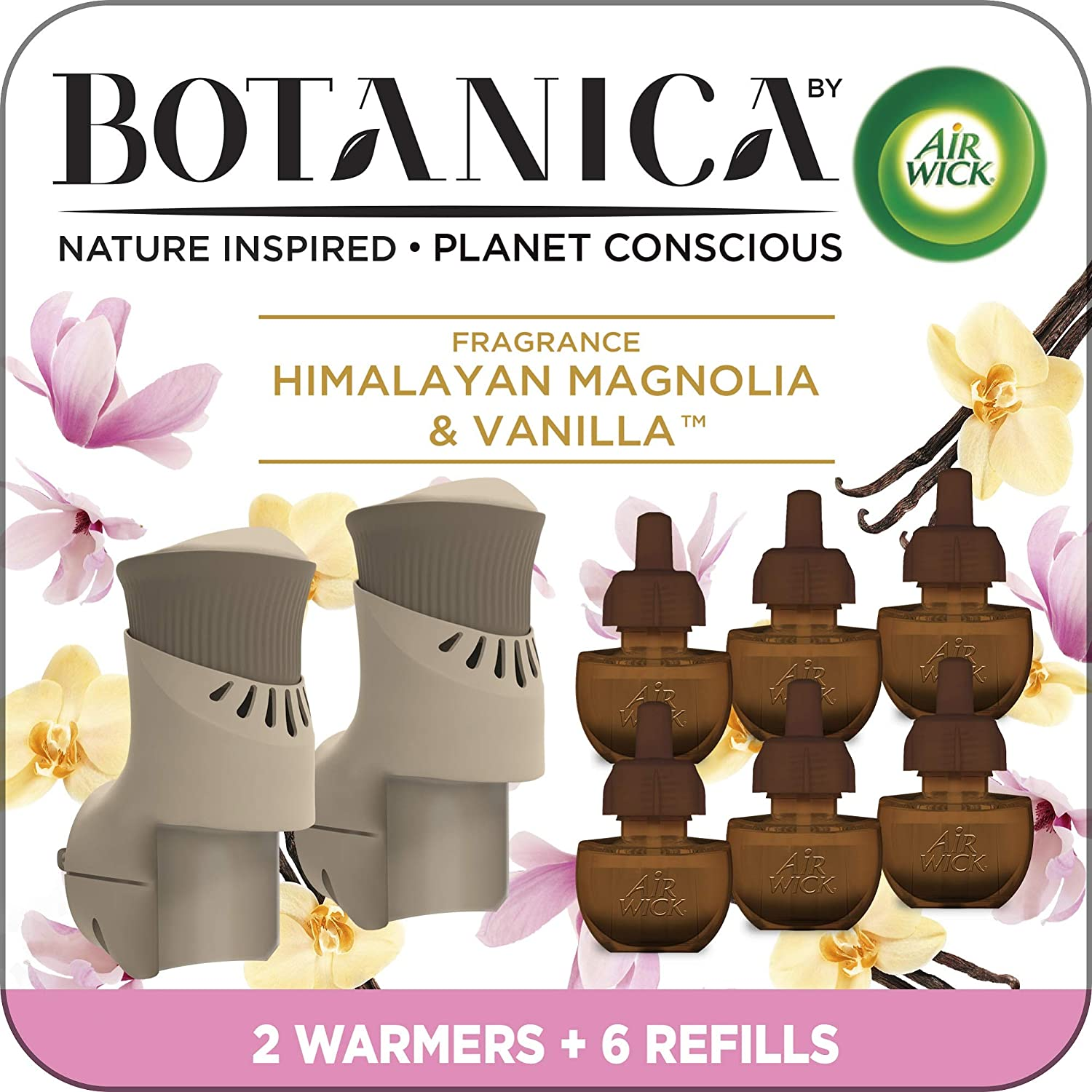Botanica by Air Wick Plug in 2 Oil Max 40% OFF Scented Popular product Starter Warmers Kit