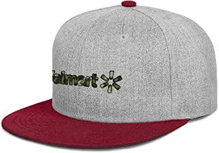 ZTUO Walmart-Army-Camouflage-Near-me- Flat Brim Baseball Cap Graphic Summer Hat
